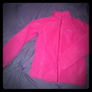 Large columbia fleece jacket
